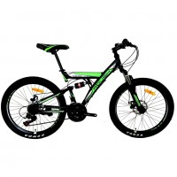 Велосипед 26 Roush 26MD100-3 зелёный матовый