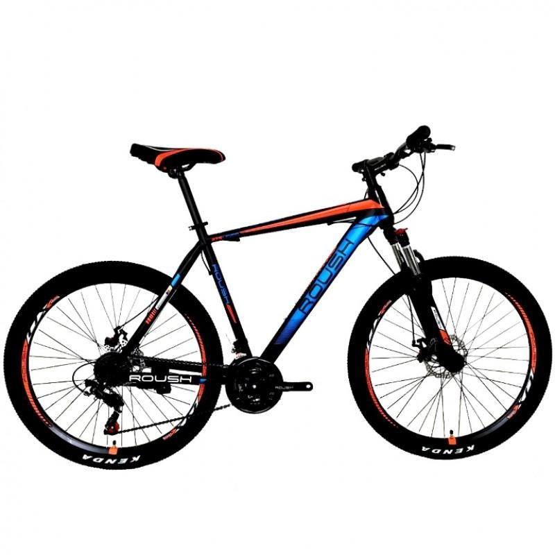 Велосипед 27,5 Roush 27MD210-1 синий/оранжевый матовый
