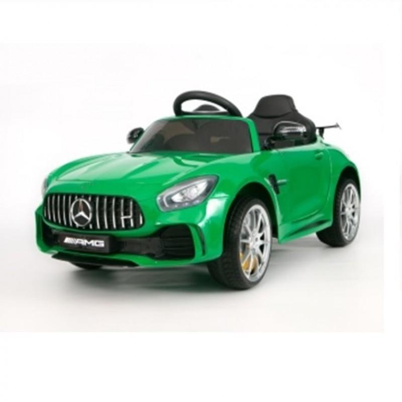 Электромобиль детский Mercedes-Benz AMG GT R, одноместный 45490  (Р)  (Лицензионная модель)  зеленый глянец