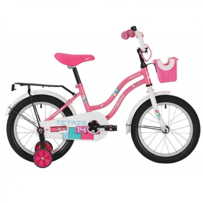 Велосипед 14 Novatrack Tetris.PN20  розовый АКЦИЯ!!!