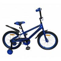 Велосипед 18 Nameless Sport, синий/черный
