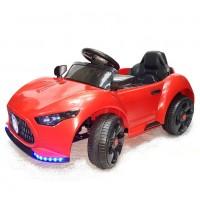 Электромобиль детский GS5189R  2*6V4,5Ah р-у, красный mp3, свет, 100*56*43 см