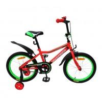 Велосипед 14  AVENGER SUPER STAR, красный/черный
