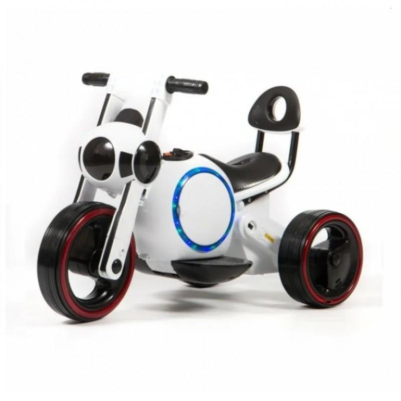 Электромотоцикл детский Y-MAXI 50491 (Р) белый