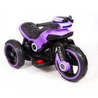 Электромотоцикл детский Y- MAXI Police 49366 (Р) фиолетовый