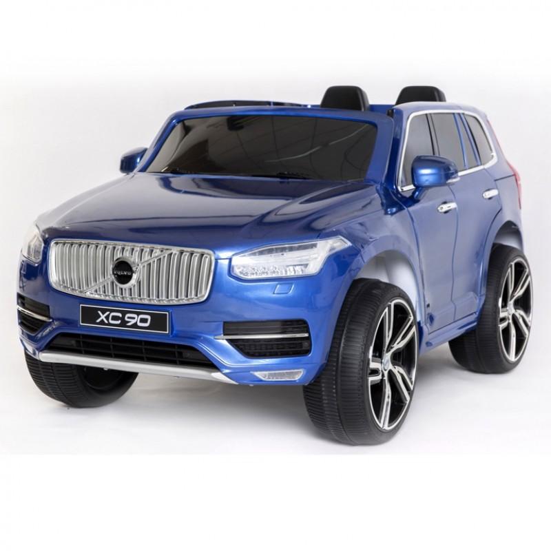 Электромобиль детский Volvo 45520 (Р)  (Лицензионная модель) синий-глянец