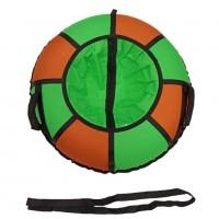 Тюбинг  CH- 75-ТО цвет N1 зелёный/оранжевый ,цена с камерой д=75см 1/10  АКЦИЯ!!!