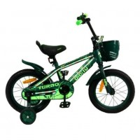 Велосипед 12 Bibitu Turbo,зелёный