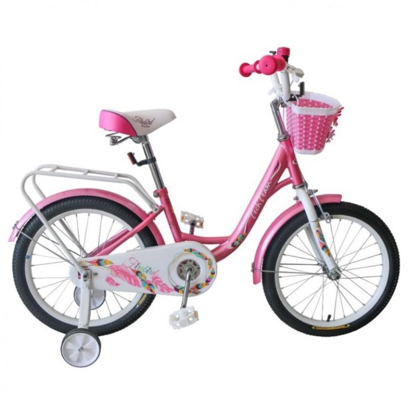 Велосипед 16  Tech Team Firebird розовый