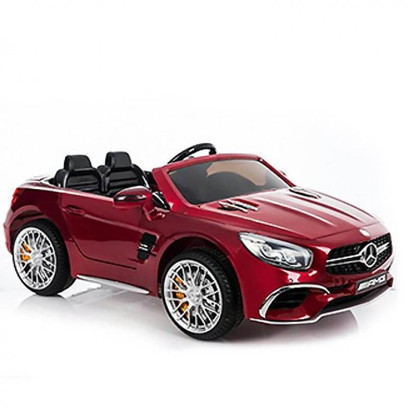 Электромобиль детский Mercedes-Benz SL65  45410 (Р) вишневый глянец