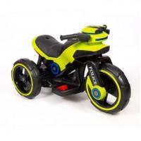 Электромотоцикл детский Y- MAXI Police 45563 (Р) салатовый