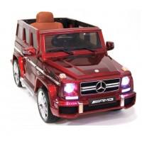 Электромобиль детский Mercedes-Benz G63 вишневый глянец  HL168