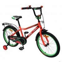 Велосипед 20 OSCAR TURBO красный/зелёный  АКЦИЯ!!!