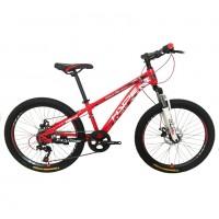 Велосипед 24 HYPE 24MD300-2 красный матовый