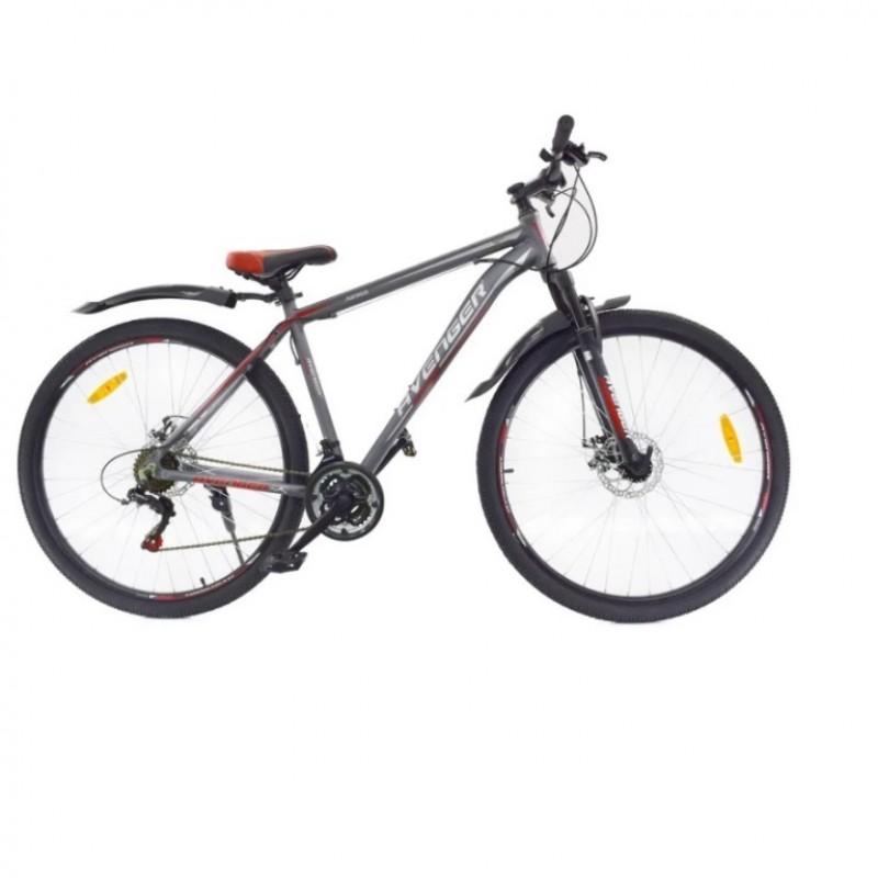 Велосипед 29 Nameless A295D-GR/RD, серый/красный