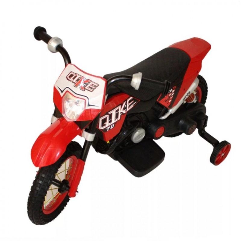 Электромотоцикл детский CROSS YM68  50487 (Р) красный