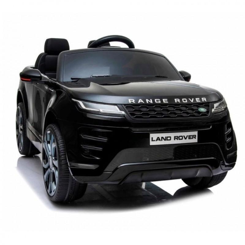 Электромобиль детский LAND ROVER DK-RRE99  50519 (Р) полный привод чёрный, глянец