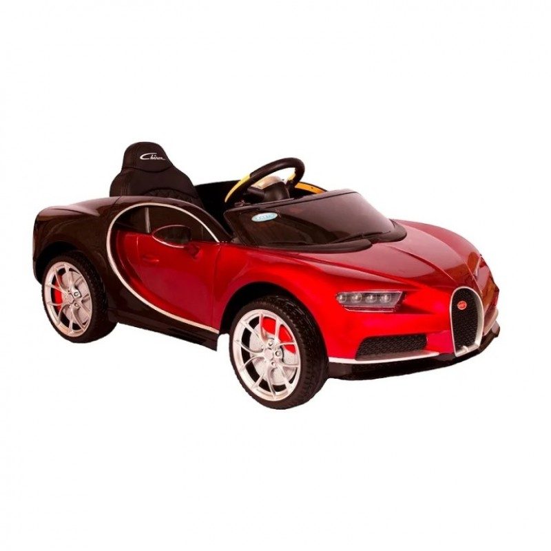 Электромобиль детский Bugatti Chiron HL318  50513 (Р) красный