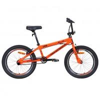 Велосипед трюковой 20 Avenger C201B-ORN/BL(21), оранжевый неон/черный