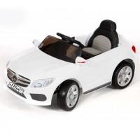 Электромобиль детский Mercedes-Benz 45526 (Р)  белый белый