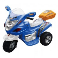 Электромотоцикл детский HL-238BE син. 6V*4.5Ah