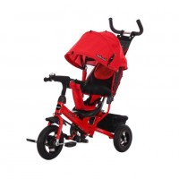 Детский 3-х колёсный велосипед 641224  Comfort 10*8 AIR, красный