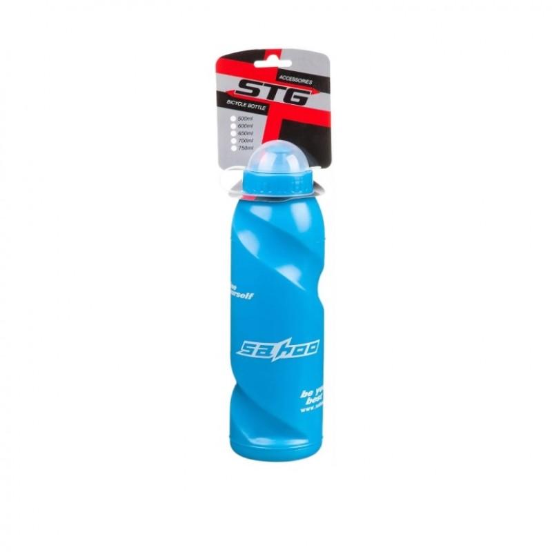 Фляга STG  700ML  голубая с крышкой