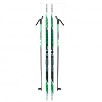 Лыжный комплект NNN креп STC 205см (4)+пал+кр степ