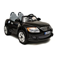 Электромобиль детский BMW М6  110  R/C 12В чер 2 МЕСТ
