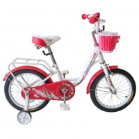 Велосипед 16  Tech Team Firebird бело-красный
