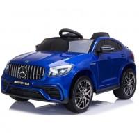 Электромобиль детский  Mercedes-Benz AMG GLC63 Coupe S, QLS-5688 50529 (Р) полный привод синий, глянец
