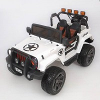 Электромобиль детский Jeep Wrangler 45454 (Р) полный привод (4х4). белый