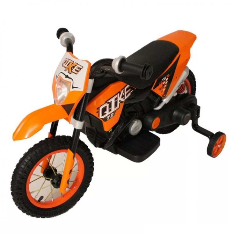 Электромотоцикл детский CROSS YM68  50486 (Р) оранжевый