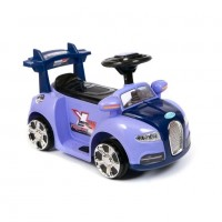 Электромобиль детский Bugatti ZPV001  50468 (Р) фиолетовый