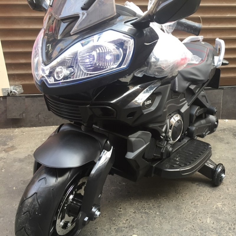 Детский электромотоцикл 42331 черный