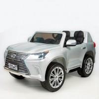 Электромобиль детский Lexus 45408 (Р) (Лицензионная модель) серебряный глянец