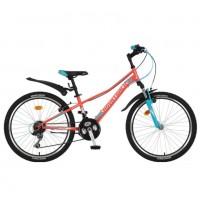 Велосипед 24 Novatrack SH18V.Valiant12CRL9