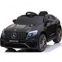 Электромобиль детский  Mercedes-Benz AMG GLC63 Coupe S, QLS-5688 50530 (Р) полный привод чёрный, глянец