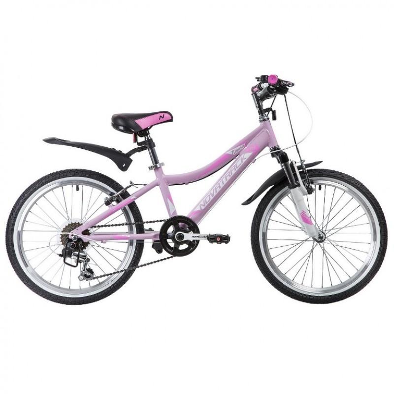 Велосипед 20 Novatrack AH6V.NOVARA.LIL9   алюминий