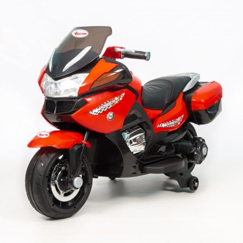 Детский мотобайк BMW 45389 (Р) PoliceMotоbaike красный