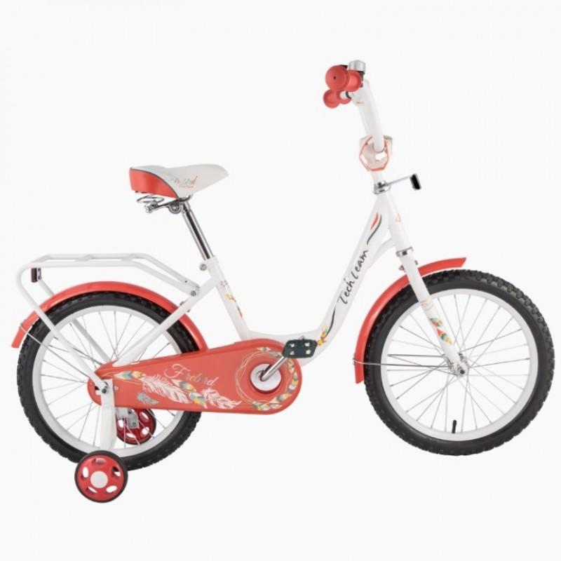 Велосипед 14 TT 14131   бело-красный