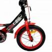 Велосипед 16 OSCAR TURBO Black-Red (черный/красный) 2021