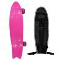 Скейтборд  ТТ Fishboard 23 pink 1/4 TLS-406