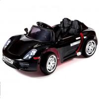 Электромобиль детский Porsche (918 Spyder) (48792)  чер-гл.