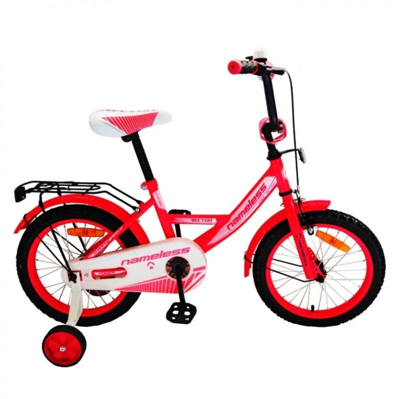 Велосипед 12 Nameless Vector  12V1RW  красный/белый