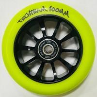 Колесо  100мм X-Treme  для самоката,Winner , жёлтый