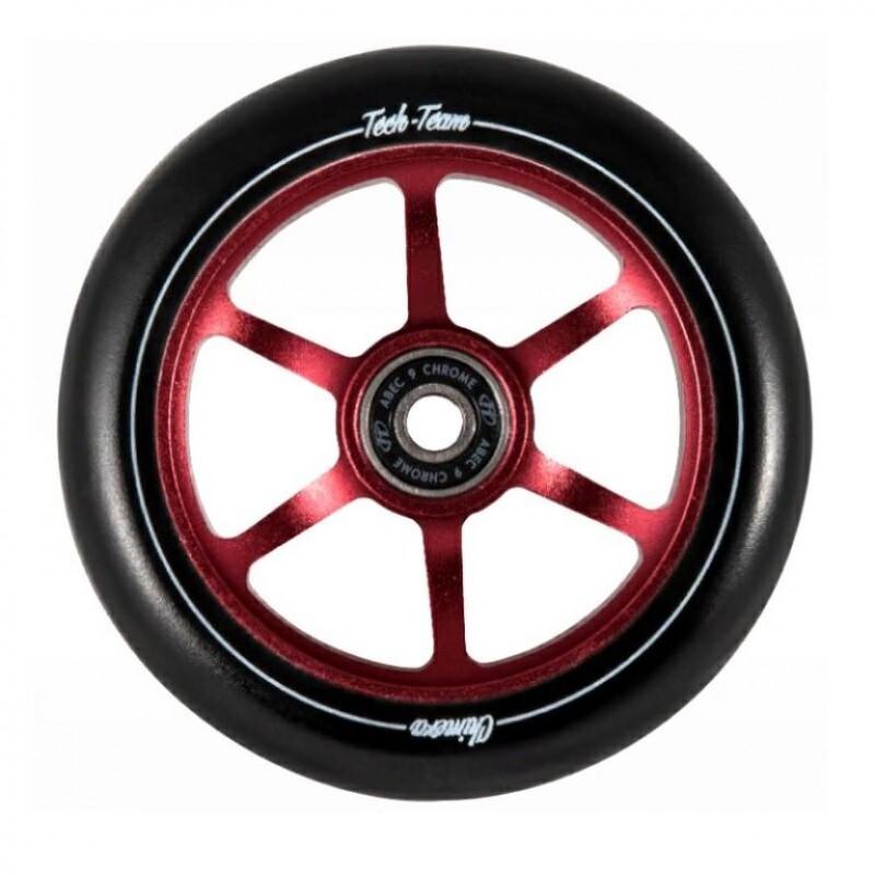 Колесо  110мм X-Treme  для самоката CHIMERA,форма 6ST red .110*24мм