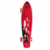 Скейтборд  Ecoline ULSTER (6) пластиковый shark