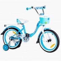 Велосипед 20 Nameless Lady, голубой/белый