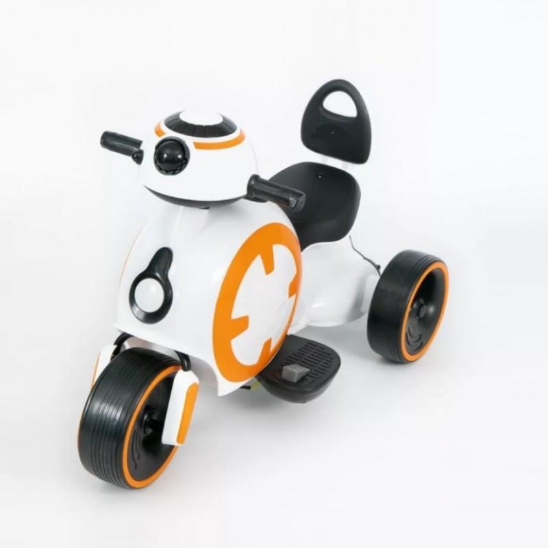 Электромотоцикл детский 52210 белый